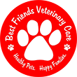Best Friends Veterinary Care Logo